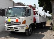 Hino 500 fm 2626 año 2008 camión grúa 6x4