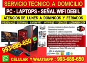Servicio tecnico wifi,computadoras,laptops,outlook
