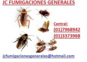 Fumigaciones insectos eliminamos  7968942.