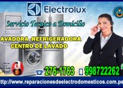 In el agustino 998722262 tecnicos electrolux