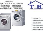 Servicio técnico de lavadoras bosch a domicilio 76