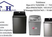 Reparación de lavadoras lg a domicilio // 7650598