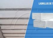 Tecnopor en ladrillos para techos