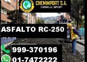 Mezcla asfáltica de fácil aplicación asfalto rc500