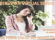Alquilamos oficina virtual exclusivas