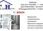 Tecnicos de refrigeradoras bosch a domicilio 76505