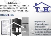 Reparaciones de refrigeradoras frigidaire 7650598