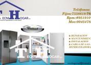Reparaciones tecnicos de refrigeradoras whirlpool