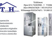 Servicio tecnico para refrigeradoras lg la molina