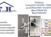 Servicio tecnico en refrigeradoras general electrc