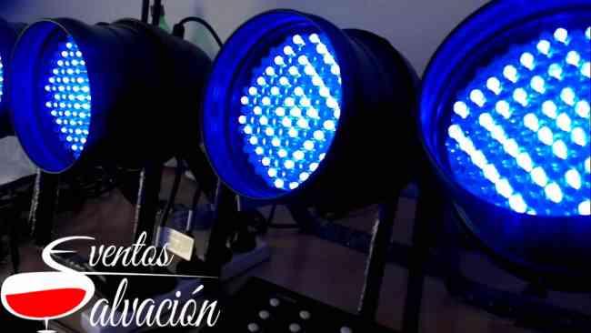 Alquiler de luces led para eventos