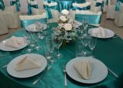 Menaje y cristalería para eventos