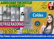 Profesionales coldex reparacion de refrigeradoras