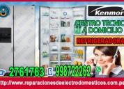 Servicio tecnico de refrigeradoras kenmore