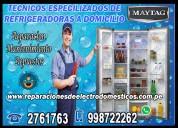 Servicio tecnico de refrigeradoras maytag