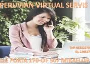 Alquilamos oficina virtual en miraflores