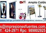 Soportes publicitarios, banner gigantografia perú,