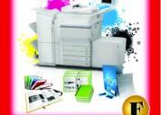 Impresión láser a color en perú: a4, a3, ploteo