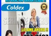 Coldex soporte técnico de lavadoras