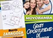 Terreno urbano 586m2 - moyobamba ciudad