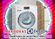 A su servicio técnicos de lavadoras  electrolux