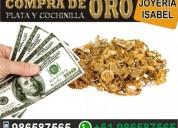 Compro oro monedas de mina rio joya de todo kilate