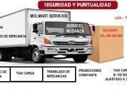 Mudanza, servicio de mudanza, taxi carga, servicio