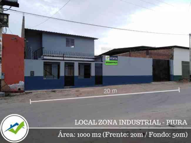 Local Zona Industrial Piura -Espaldas de Ferreyros