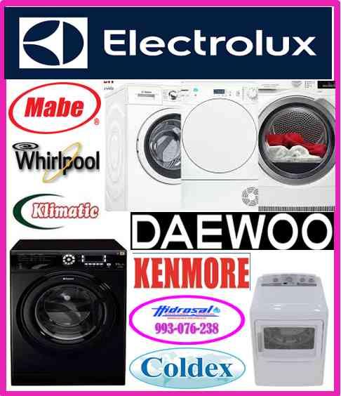 Servicio tecnico de lavadoras y mantenimientos