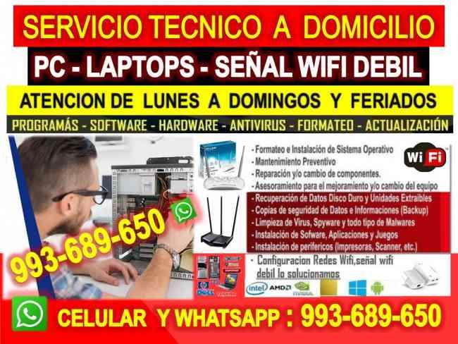 Tecnico de internet wifi,Pc,laptops,cableados