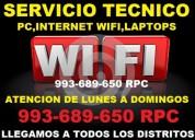 Servicio tecnico a computadoras, red wifi,laptops