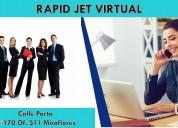 Oficina virtual de alquiler en miraflores