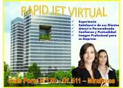 Alquilamos oficina virtual por miraflores
