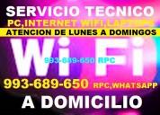 Tecnico de instalacion de repetidores wifi