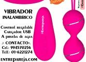 Vibrador rosa con control remoto oferta por mama