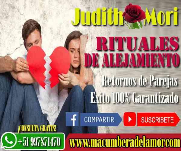 RITUALES DE ALEJAMIENTO JUDITH MORI +51997871470