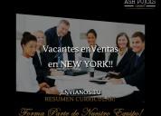 Formando ejecutivos de ventas en la ciudad de new