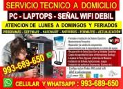 Tecnico pc laptops configuracion routers y wifi