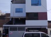 Venta de casa de 4 pisos ideal para colegio,academ