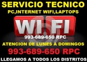 Tecnico de repetidores wifi,pc ,laptops
