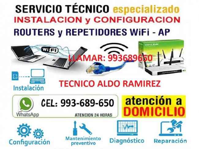 Tecnico Repetidores wifi instalacion configuracion
