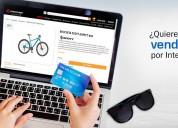 Vende por internet, tiendas online, carritos de co