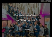 Plaza de empleo en ventas directas en new york