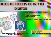 Contometros de tickets de atencion