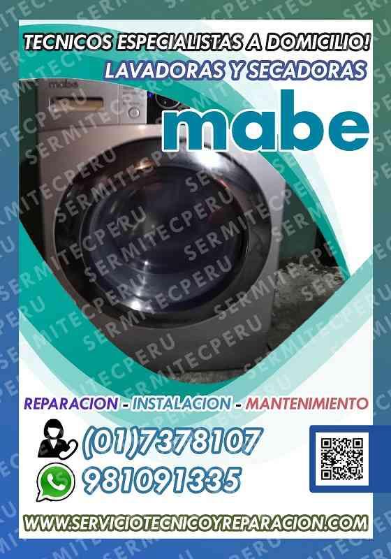 MABE->> Mantenimiento de LAVADORAS en San Luis