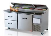 Especializado mesas refrigeradas reparacion