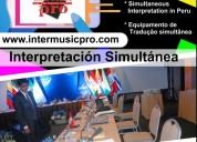 Perú interpretación cel. 997163010