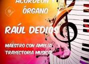 Clases particulares de acordeón y Órgano