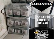 Asfalto rc-250 producto de la mejor calidad