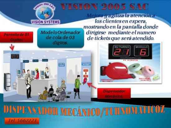 GESTION DE COLAS DE ATENCION LIMA VS